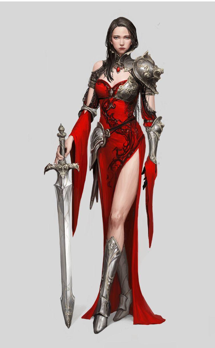 The Empress Jiyeon Ryu Fantasy Female Warrior Fantasy Women Warrior Woman