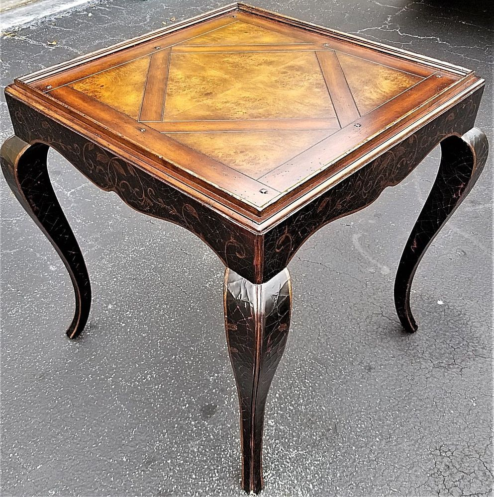 Beautiful Baker Milling Road Side Occasional Lamp End Table Antiques Furniture Tables Ebay End Tables Table Antiques