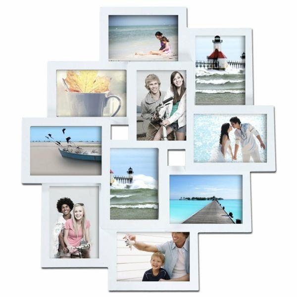die besten 25 bilderrahmen mehrere bilder ideen auf pinterest mehrere bilderrahmen. Black Bedroom Furniture Sets. Home Design Ideas