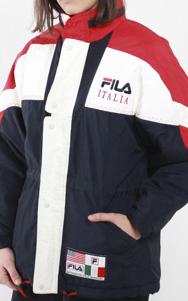 Vintage Fila Puffer Jacket  3d6be1e164eb
