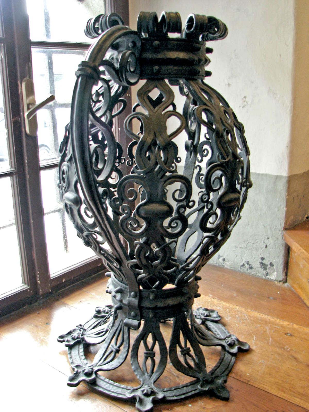 Elegant Ornate Ironwork U0027jugu0027 From The Iron Forging Museum In Kropa Is Located In  The Central Part Of The Square In Klinaru0027s House. It Was Opened In 1952 As  The ...