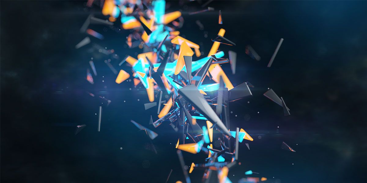 Abstract 3D Twitter Cover & Twitter Background | TwitrCovers