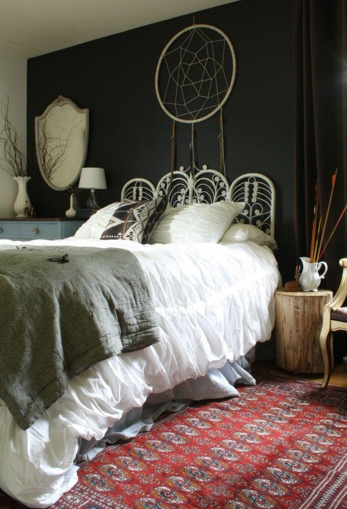 Moody Boho Bedroom