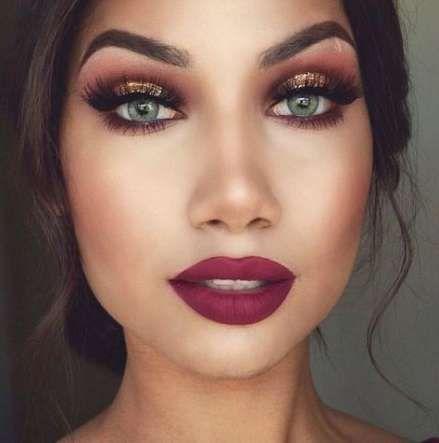 19+ Ideas For Eye Makeup Maroon Lipsticks -