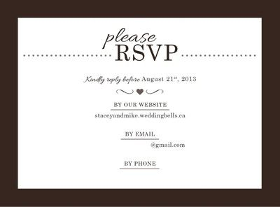 Stamps On Rsvp Envelope Weddings Etiquette And Advice