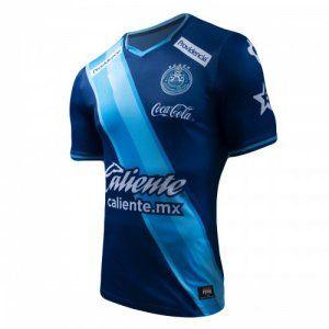 Puebla FC 16-17 Season Away Blue Soccer Jersey  I786   8ff87452c33c6