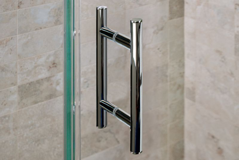 Chrome Shower Door Handle With Images