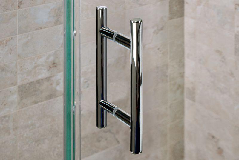 Chrome Shower Door Handle