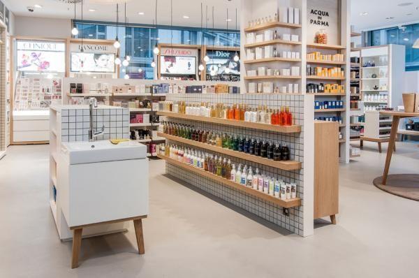 Mussler Beauty Killesberghohe Dittel Architekten Gmbh Pharmacy Design Retail Architecture Retail Interior