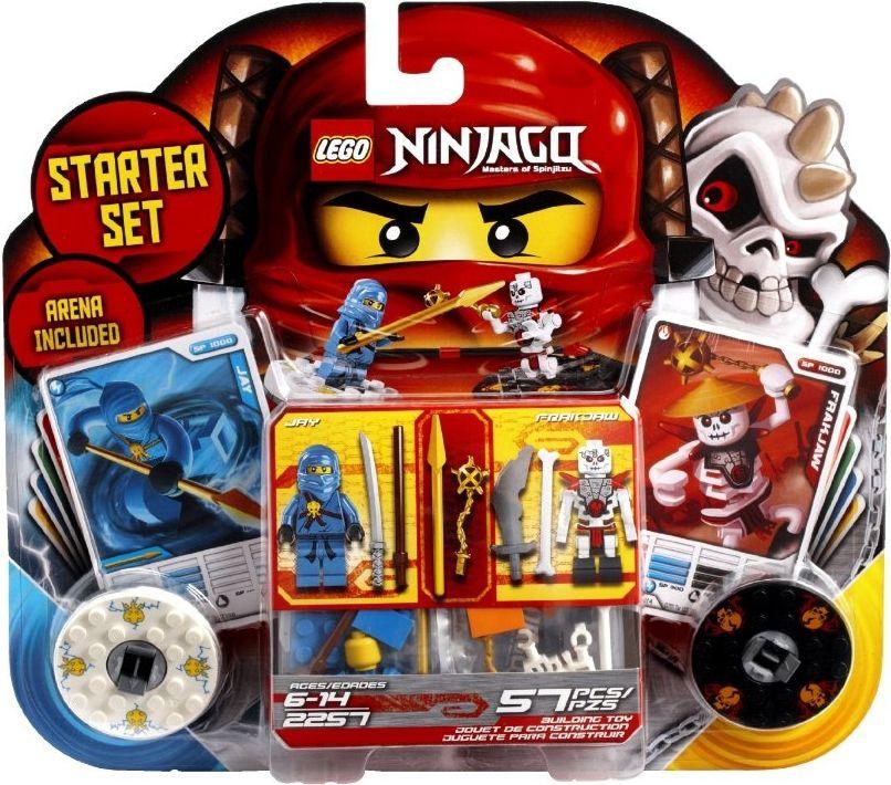 Baukästen & Konstruktion Lego ninjago Spinners bundle large lot
