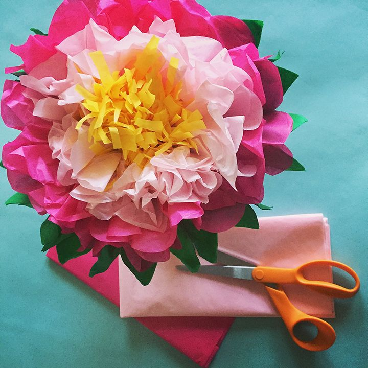 How To Make A Tissue Paper Flower A Dazzling Tutorial Paper