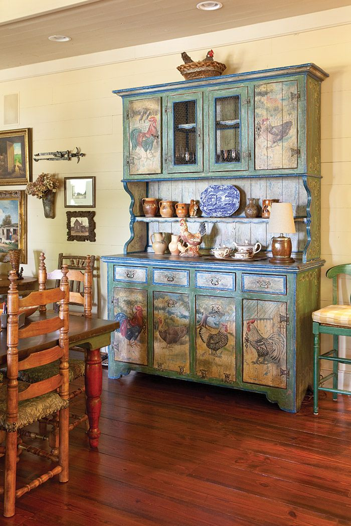 Painted hutch | arred. ceramic piattaia etagere | Pinterest | Cucina