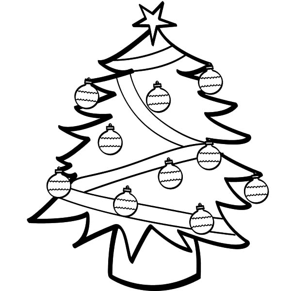 Pin by ColorLuna on Christmas Trees Coloring Pages ...