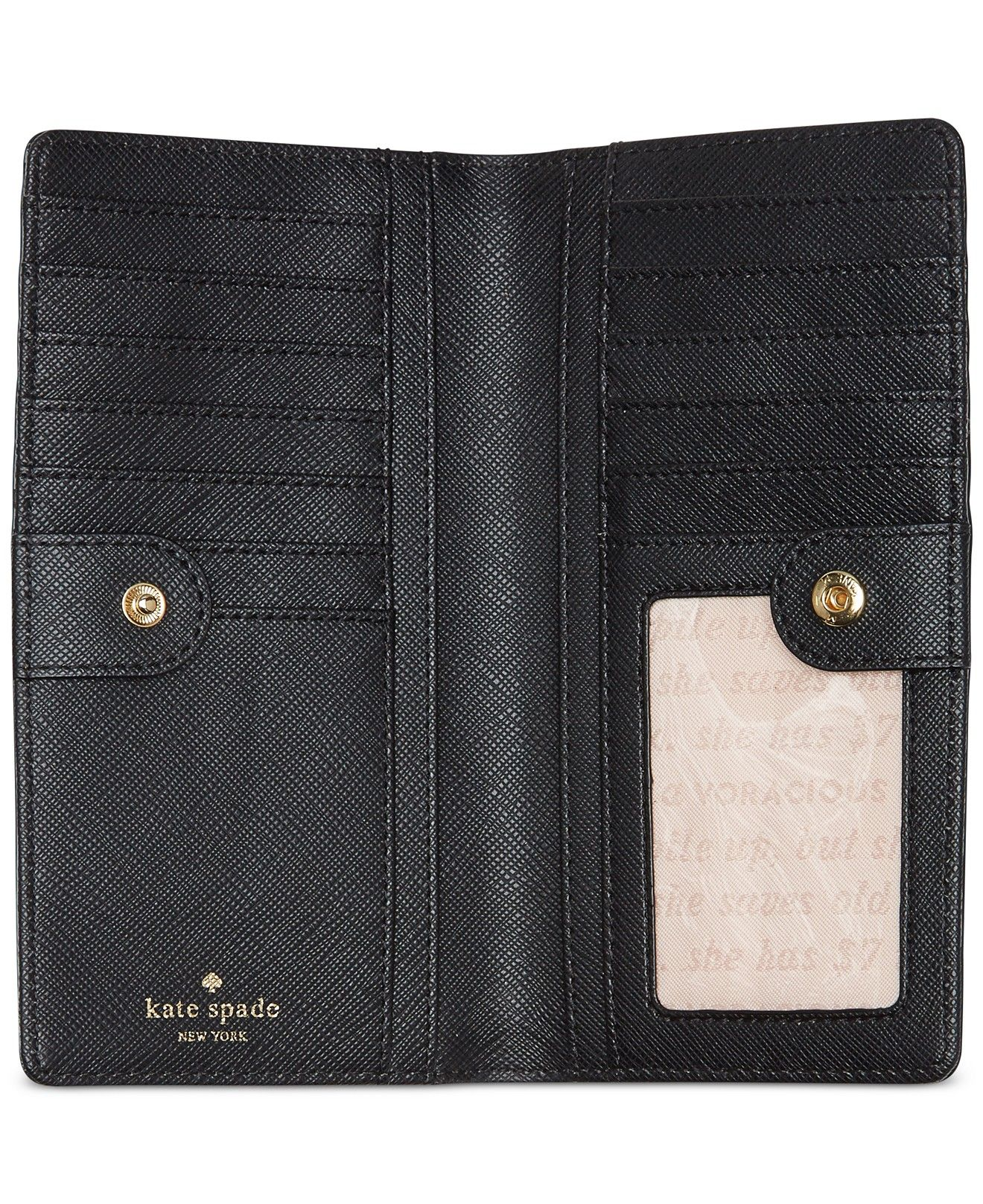 kate spade new york Sinclair Drive Stacy Continental Wallet - Handbags & Accessories - Macy's