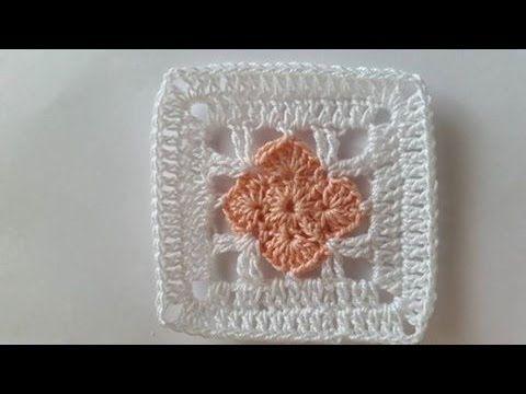 Tutorial copertina mattonella con fiore rosa youtube