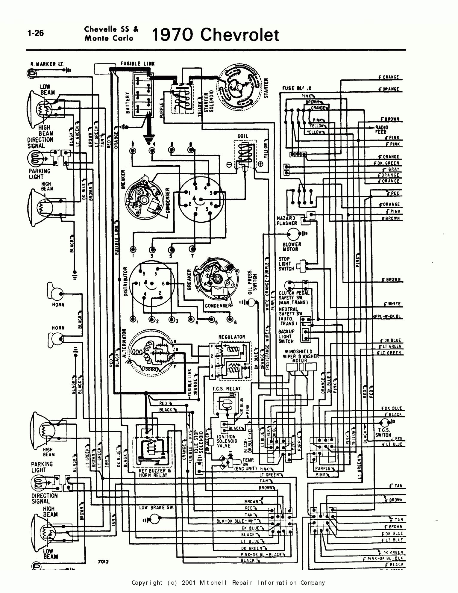Basic Hot Rod Engine Hei Wiring Diagram And Chevelle Engine Wiring