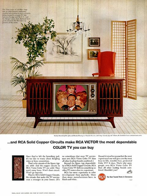 Rca Tv Ad 1965 Vintage Television Stereo Console Vintage Tv