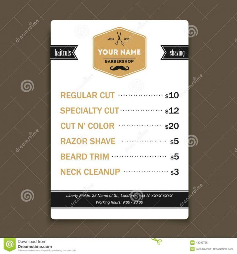 business plan resume example new hair salon price list