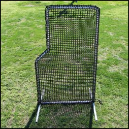 L Net 4ft X 7ft Screen 84hdpe 120ply Net W Frame Screen Batting Cages