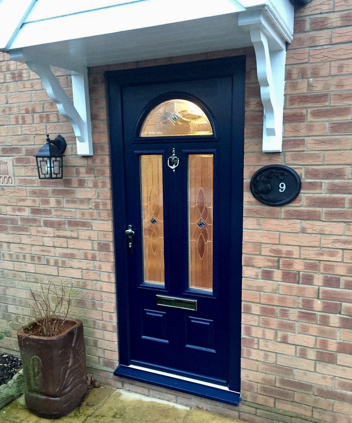 Endurance doors cheviot french navy blue front doors cms doors quality range of garage front doors rubansaba