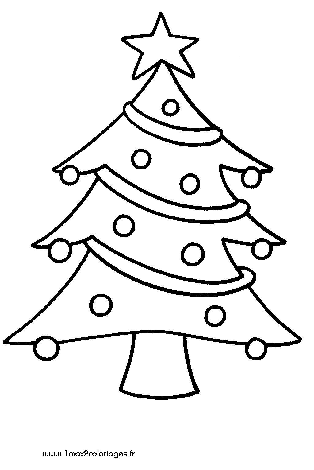 Coloriage Sapin De Noel à colorier   Dessin à imprimer | Christmas