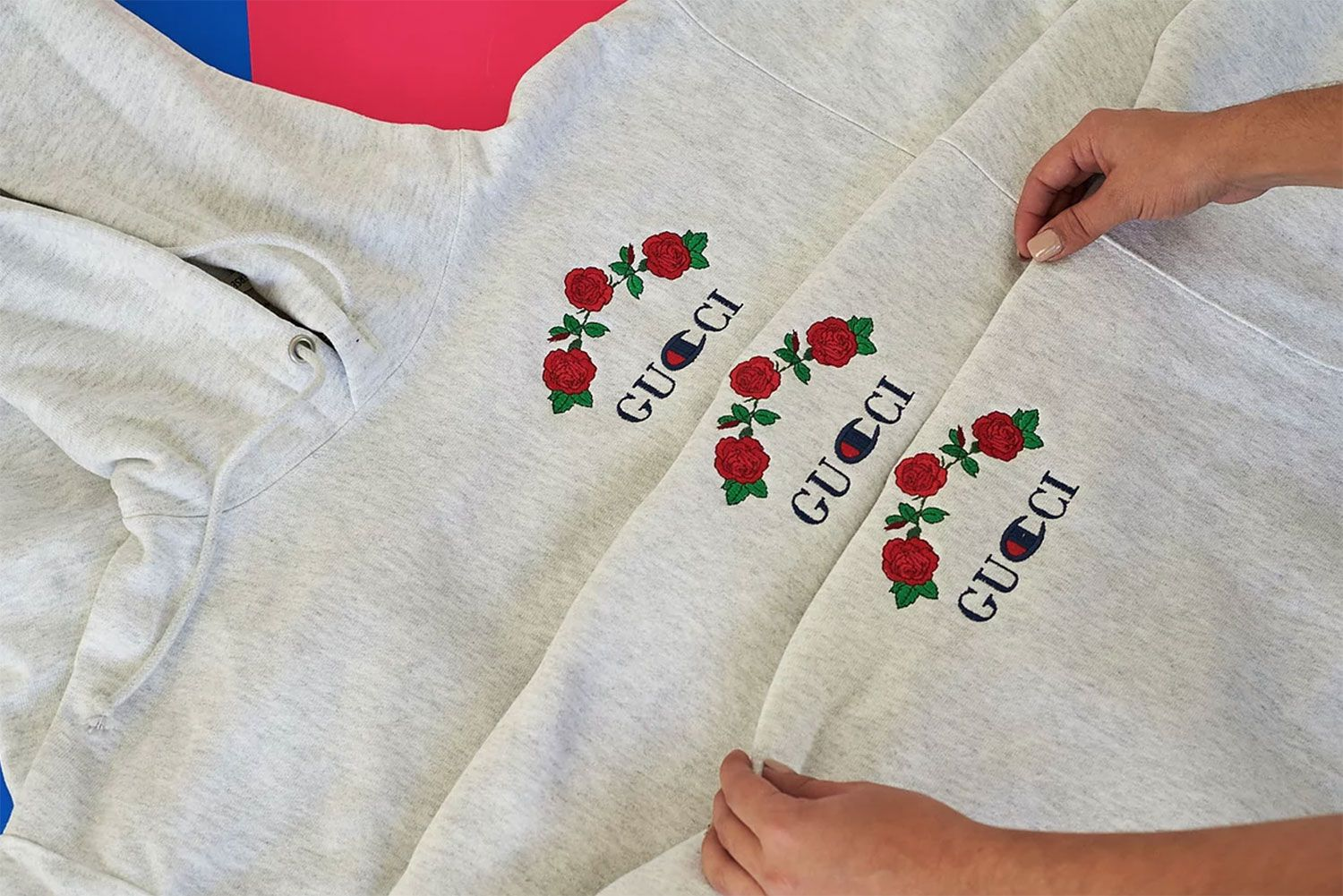 e501c331 Ava Nirui Finally Released Her Much Hyped GUCCI x Champion Bootleg Hoodie  #thatdope #sneakers #luxury #dope #fashion #trending