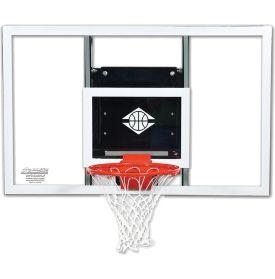 "Goalsetter 54"" Fixed Height Baseline Glass Blackboard and HD Breakaway Rim - Dick's Sporting Goods"