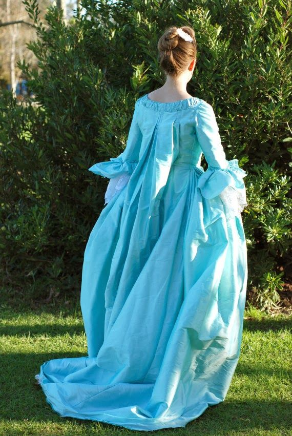 Inspired by the French 18th century ballgowns of Marie Antoinette
