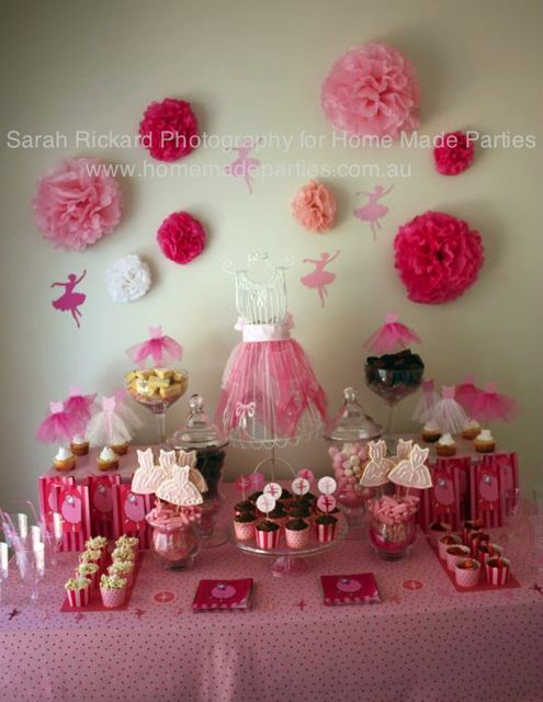 """Photo 3 of 30: pink/ballet theme / Tea Party """"grade 1 ballet party"""" 
