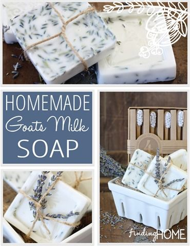 How to Make Homemade Goats Milk Soap (Recipe | gifts | Soap