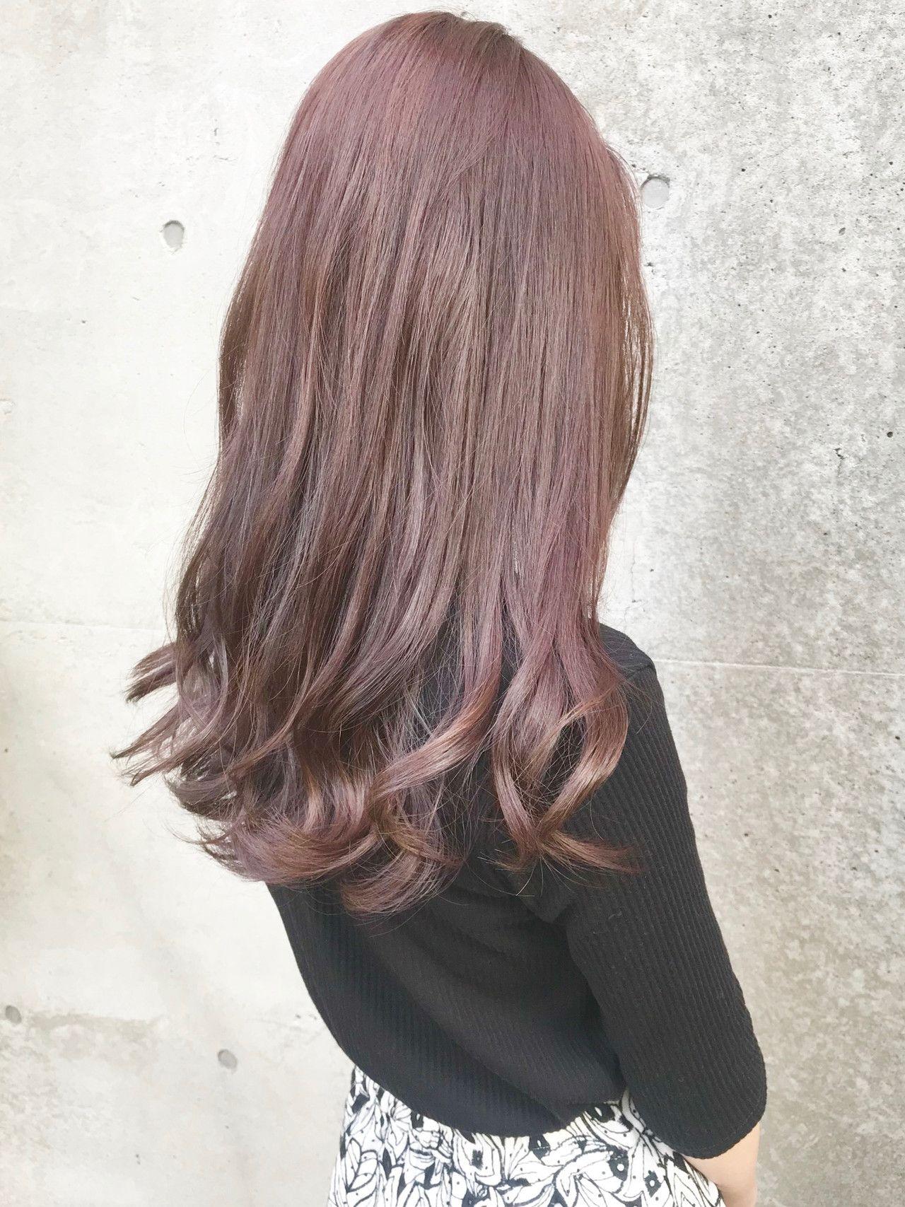 髪 ピンク 色 ベージュ 髪色選びに迷ったら、ヘアカラー診断で似合う色を見つけよう!旬のおすすめカラーも