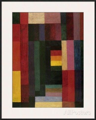 Horizontal/Vertikal, 1915 Poster by Johannes Itten at AllPosters.com