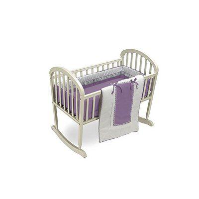 Harriet Bee Duron Cradle Bedding Set Color Lavender Size 15 W