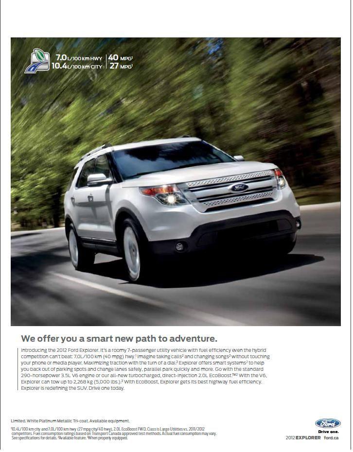 Page 2 Explore Ford Explorer Adventure