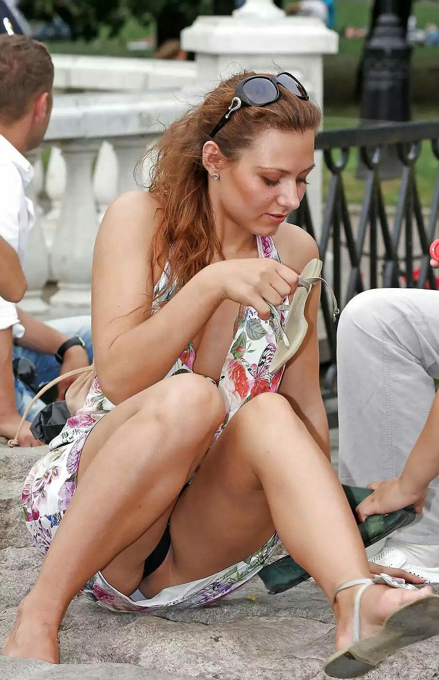 i love the amateur upskirt : saturday in the park(2) candid