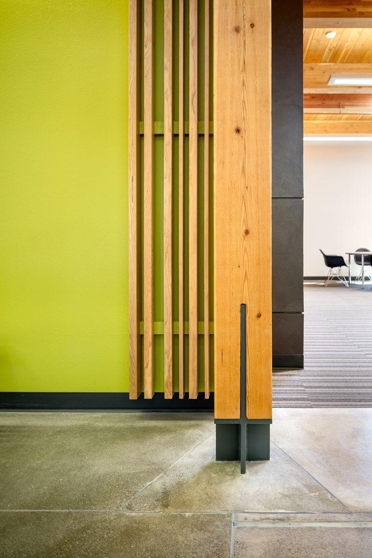 heavy timber column base detail | cascades academy of