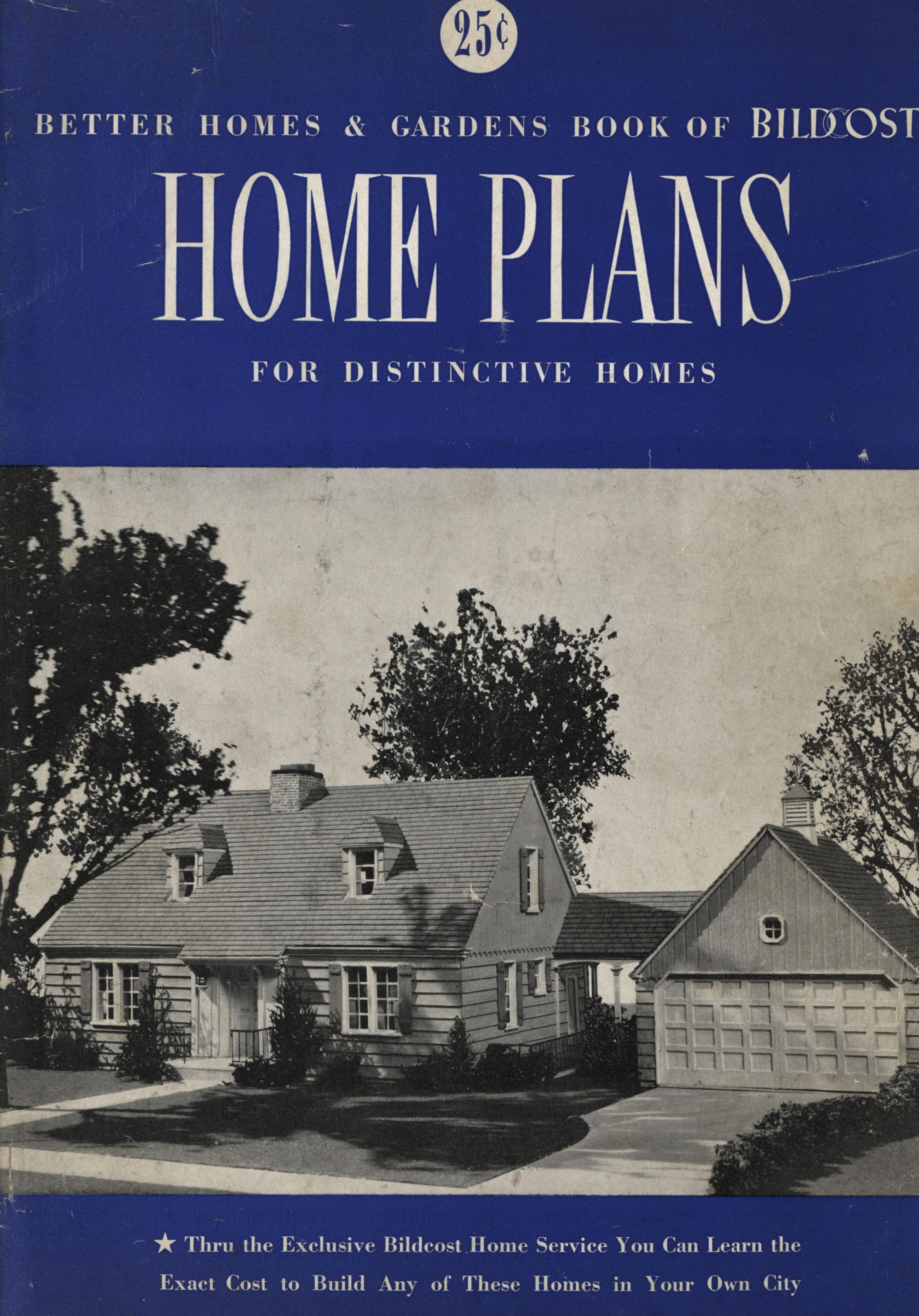 The Book Of Bildcost Gardened Home Plans Better Homes And