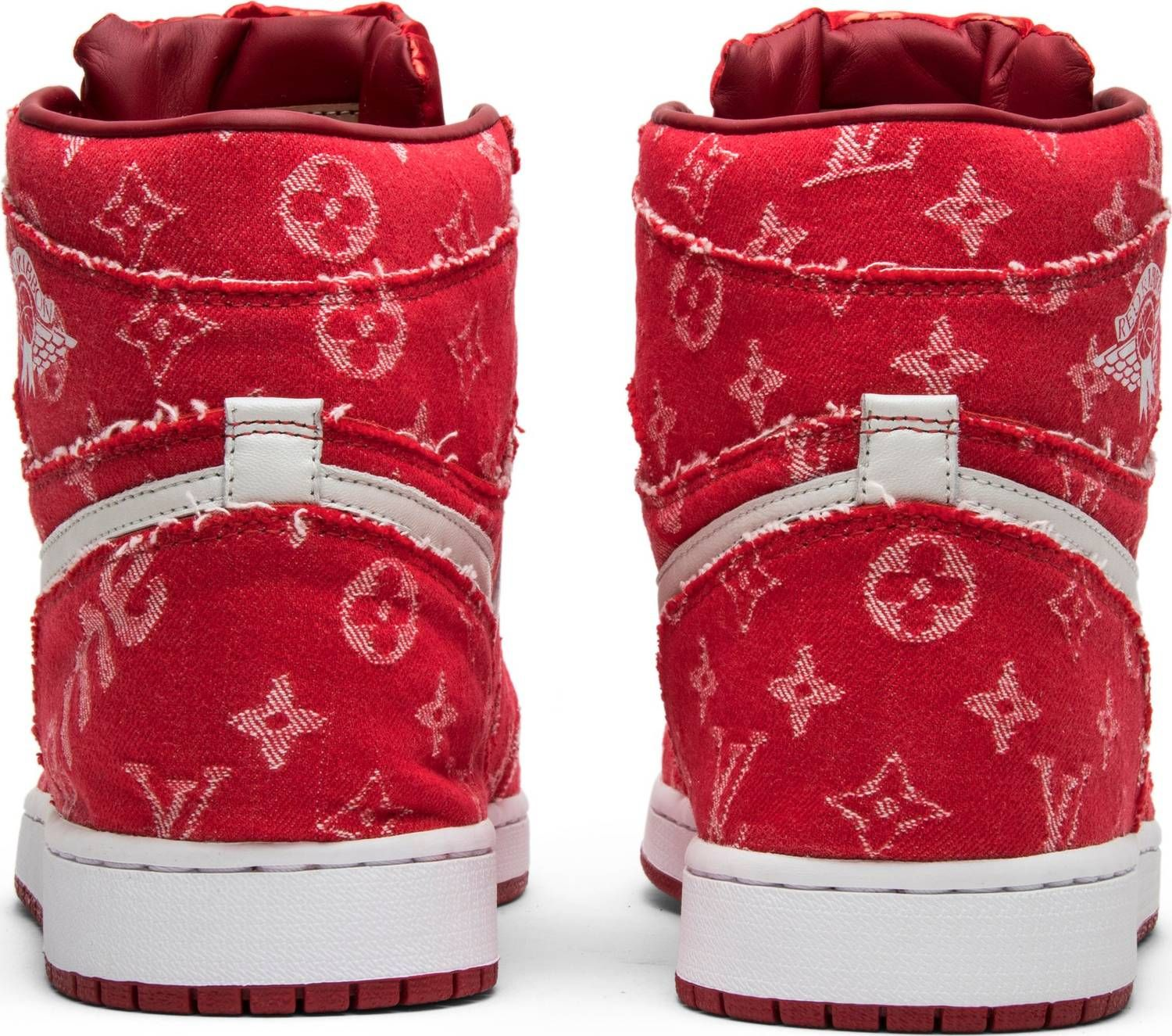 best service 3196b 736a5 Air Jordan Supreme x Louis Vuitton x Red Ribbon Recon x Air Jordan 1 Retro  High
