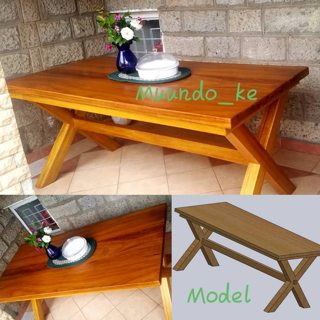 Made This Lovely Table For A Client It S Made Of Mvule African Teak You Can Identify Mvule From It S Yellow Ish Colour Hardwood Coffee Table Decor Table [ 1080 x 1080 Pixel ]