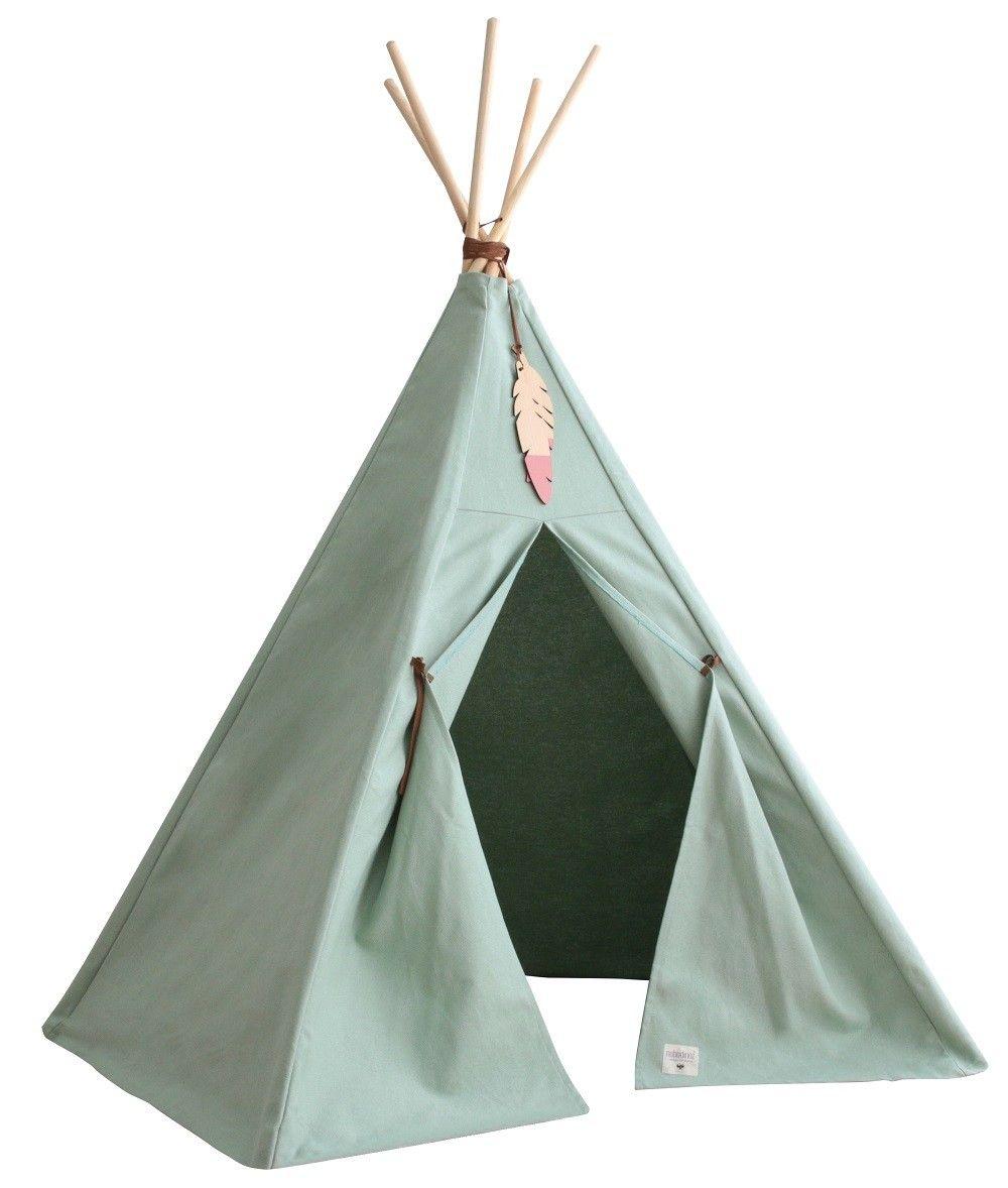 Nobodinoz Pure tipi tent provence green. .psikhouvanjou.nl  sc 1 st  Pinterest & Nobodinoz Pure tipi tent provence green. www.psikhouvanjou.nl ...