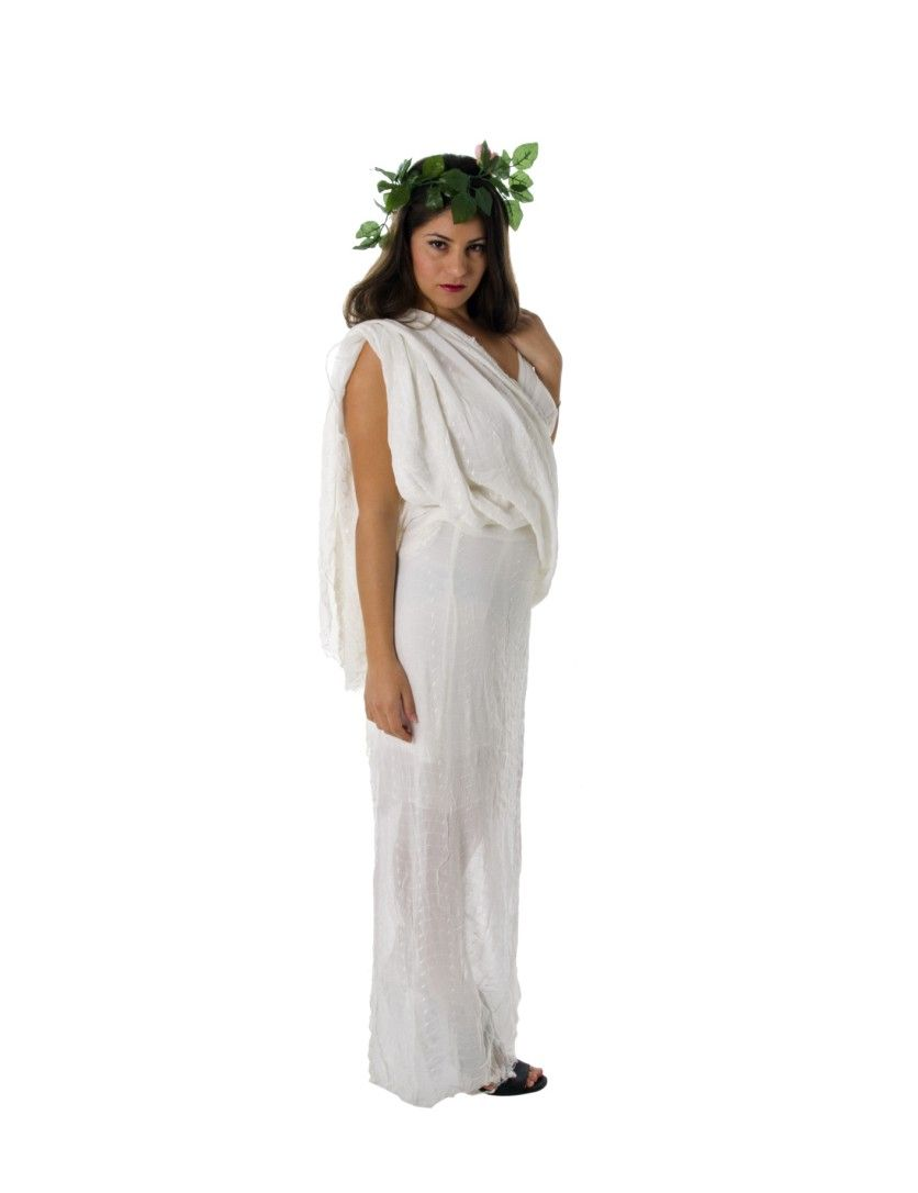 Unique halloween costumes a greek goddess costume requires unique halloween costumes a greek goddess costume requires nothing more than a white draped arrangement solutioingenieria Gallery