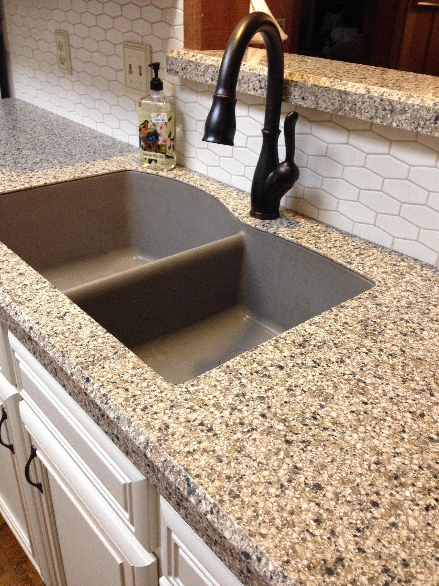 pin on kitchen and ideas on farmhouse kitchen granite countertops id=17272