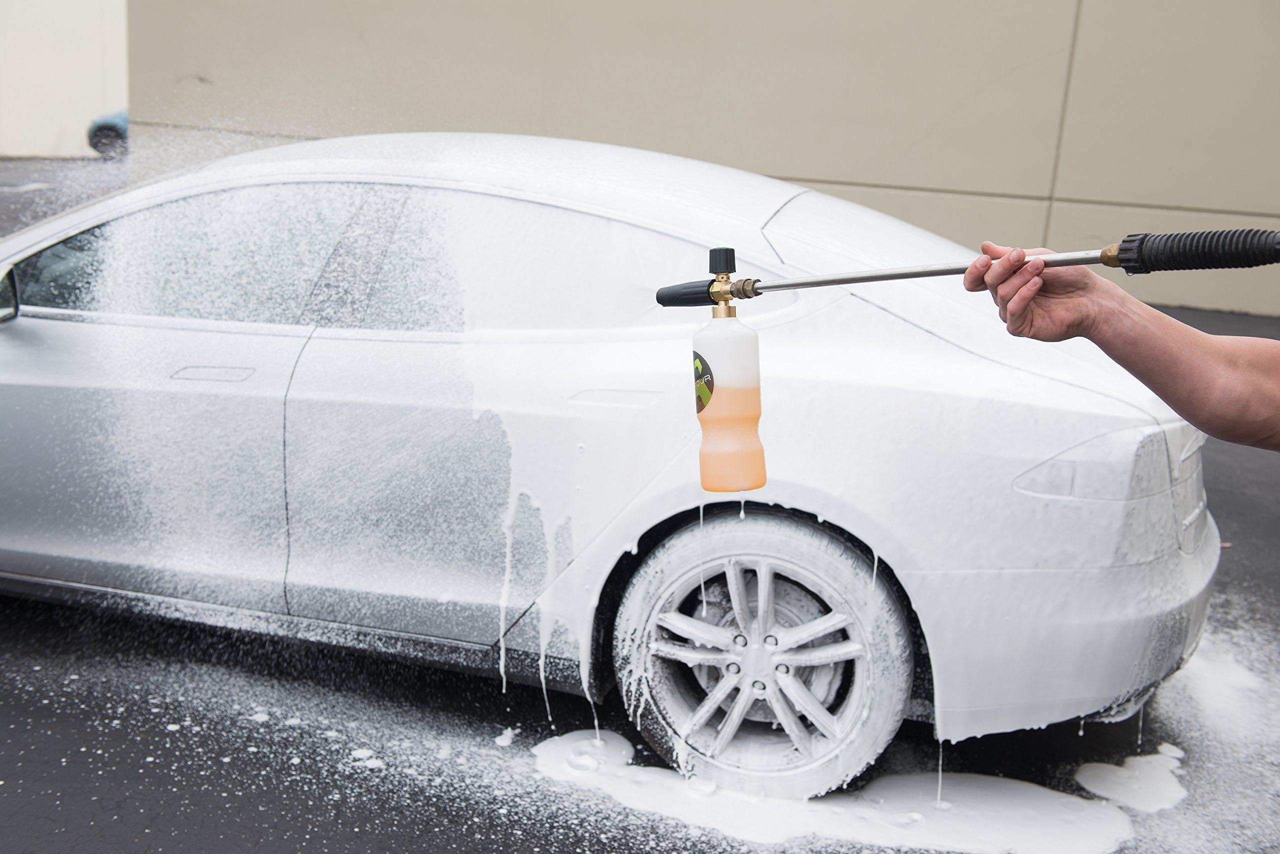 Armour car care new product trgr pro foam sprayer with 1 gallon papaya foam car wash you can get more details by clicking on the image