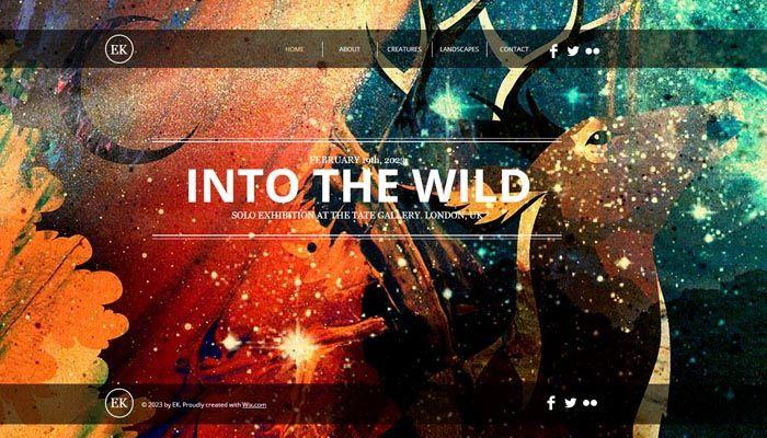 Bcb26 Inspiration Portfolio Website Templates For Artists Web