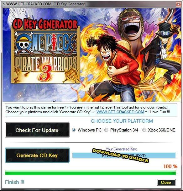 one piece pirate warriors 3 for pc free download