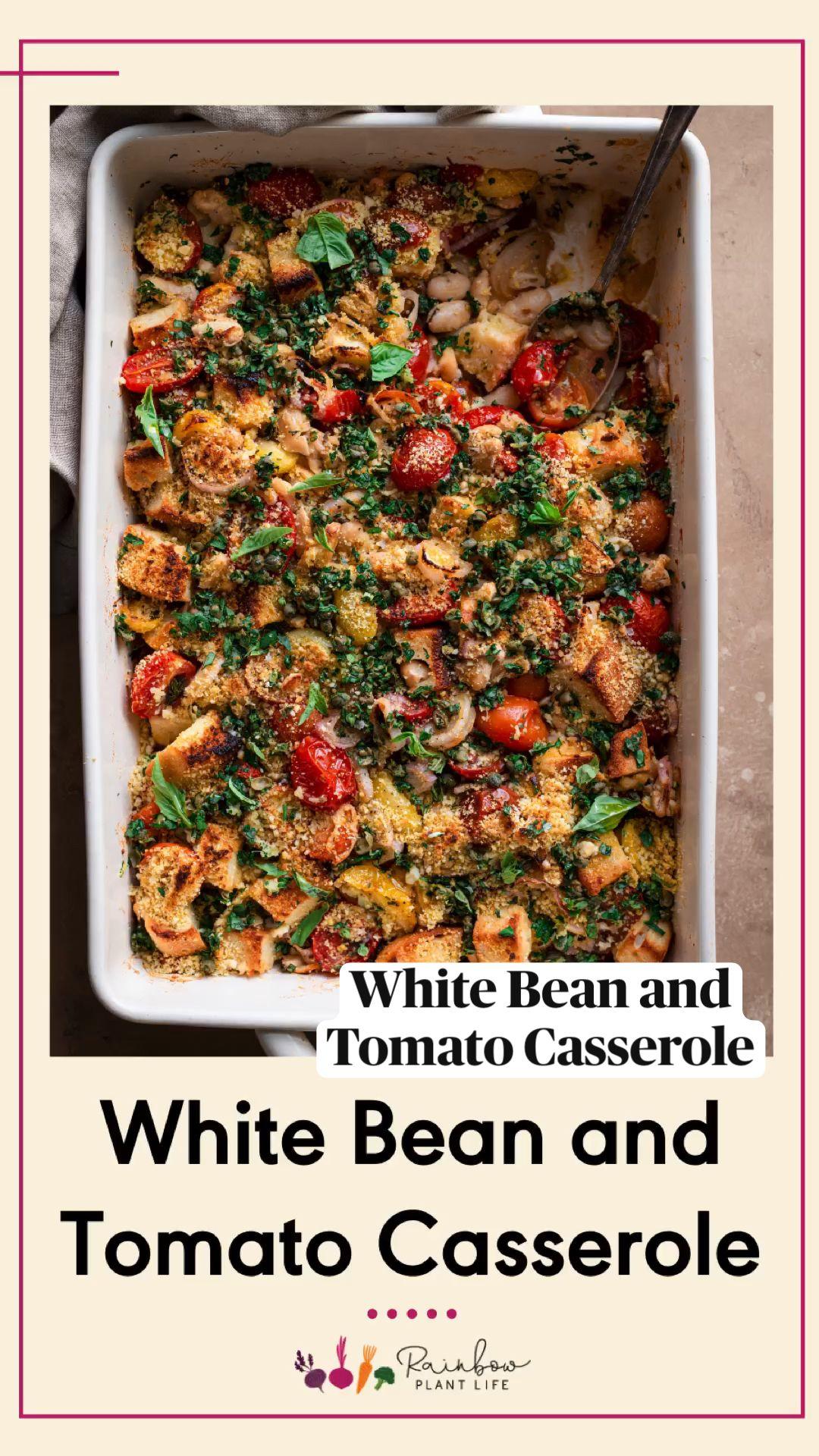 White Bean and Tomato Casserole