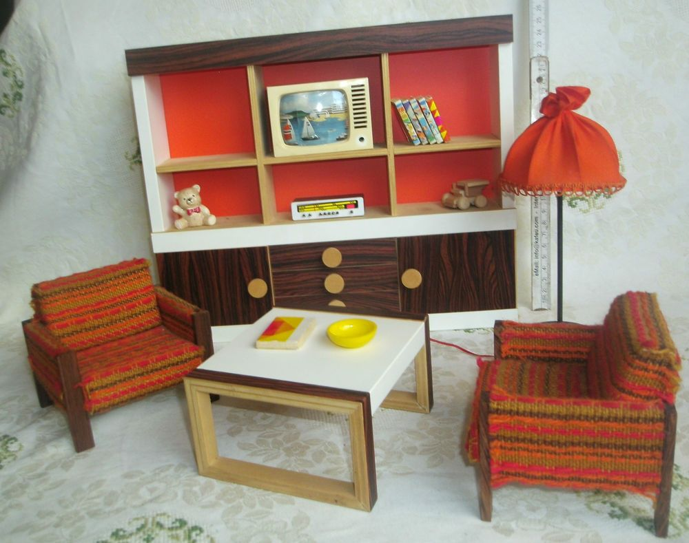 Bodo Hennig Möbel Wohnzimmer gross 70er J. Barbie Skipper & Co ...