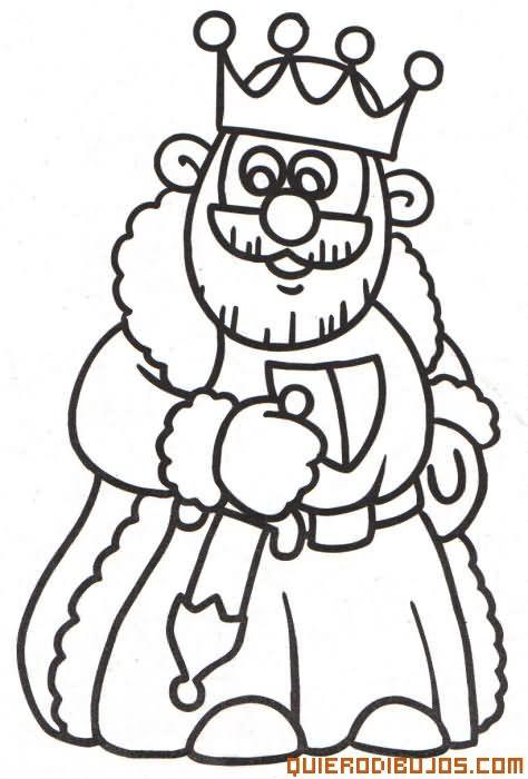 Resultado De Imagen Para Dibujo De Un Rey Rey Para Colorear Reyes Medievales Castillo Para Colorear