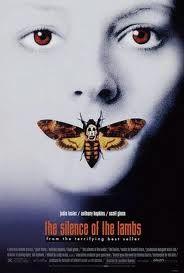 El silencio de los corderos. Un gran thriller, suspense psicológico y pinceladas de terror. Arrasó las taquillas. Jodie Foster y Anthony Hopkins... impecables!