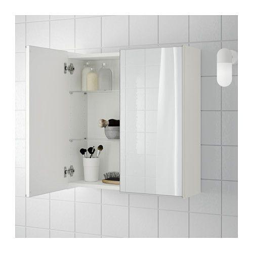 Ikea spiegelschrank schlafzimmer  LILLÅNGEN Spiegelschrank 2 Türen - weiß - IKEA | renew my home ...